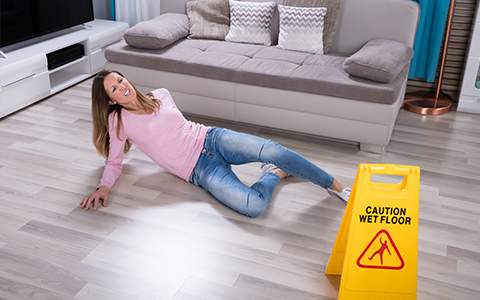 PRevent accidents at home